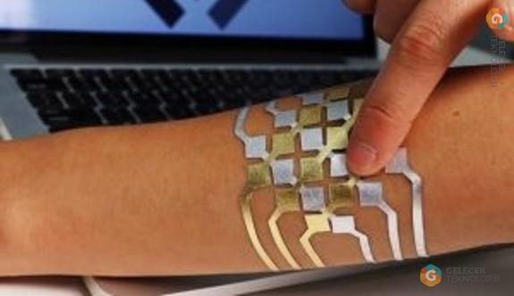 DuoSkin dövme ile telefonunuzu kontrol edebilirsiniz