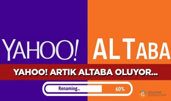 Yahoo ismi değişiyor, artık Altaba olacak!