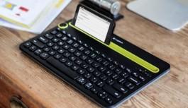 Logitech K480 kablosuz klavyenin ayrıntılı...