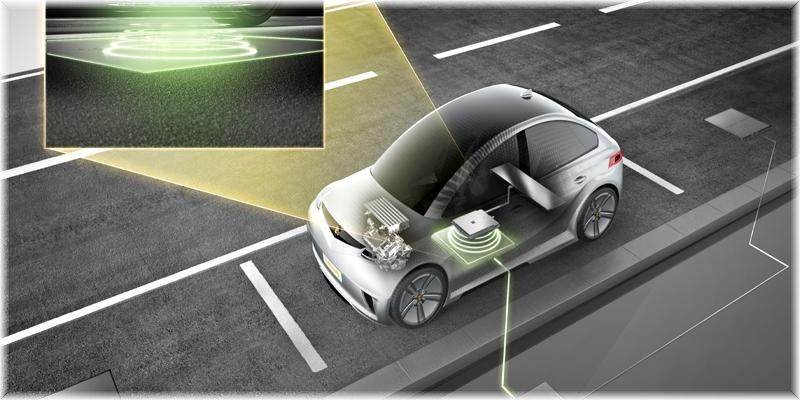 Otomobiller de kablosuz şarj edilebilecek!